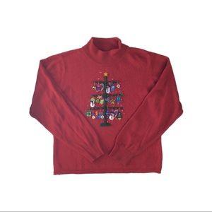 Marisa Cristina 2003 Red Christmas Sweater